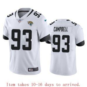 Jacksonville Jaguars #93 Calais Campbell Jersey